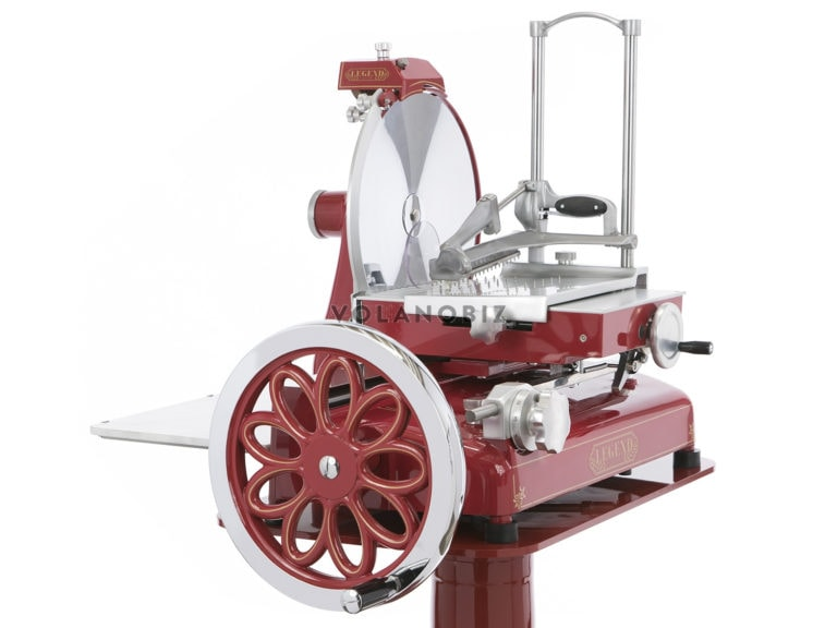 old style slicer in red