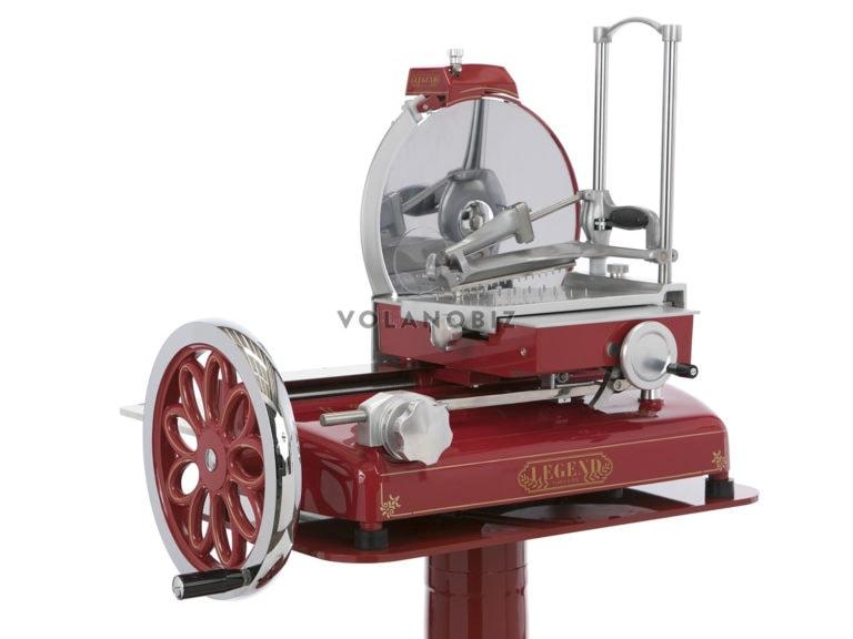 old red flywheel slicer